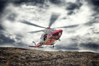 COASTGUARD RESCUE, SOUTH WALES BY SCOTT WARNE