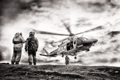 Coastguard Rescue By Scott Warne