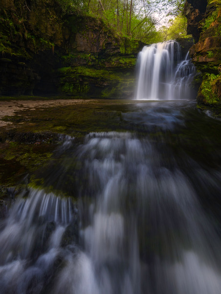Brecon Falls Brecon Beacons waterfall Country 039102017