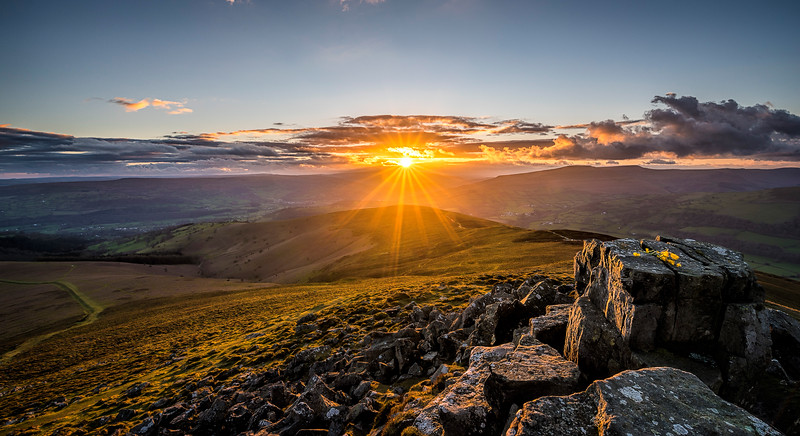 Sunset at the Sugar Loaf_Brecon Beacons_Landscape_Karl McCarthy_016102017