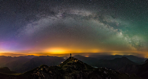 SNOWDONIA AT NIGHT & ASTRO-PHOTOGRAPHY IMAGES