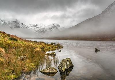 Llyn Ogwen, Snowdonia By John Starkey