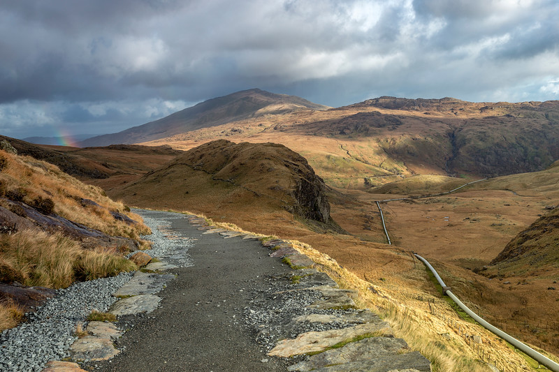 MINERS FOOTPATH-SNOWDON MOUNTAIN-BY GREGG CASHMORE-077112017