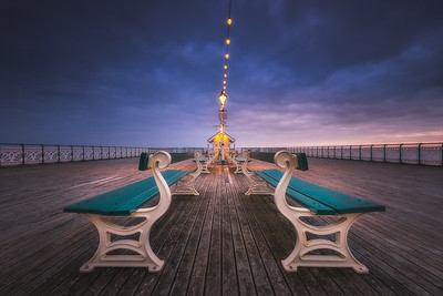 PENARTH PIER BY XAVIER MARTYN