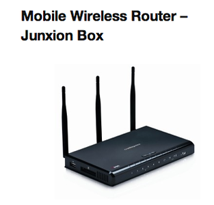 Mobile Wireless Router-Junxion Box  http://www.mcmnyc.com/junxion-box-mobile-wireless-routers-new-york-nyc/