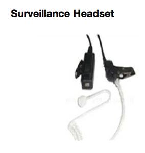 Surveillance Headset  http://www.mcmnyc.com/surveillance-headset-secret-service-earpiece/