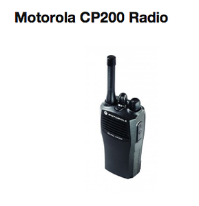 Motorola CP200 Walkie Talkie  http://www.mcmnyc.com/motorola-cp200-two-way-radio-walkie-talkie/