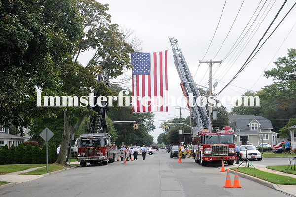 WANTAGH FD COMMISSIONER CRAIG CRAFT FUNERAL DETAIL