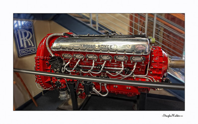 P-51 Mustang Rolls Royce Engine