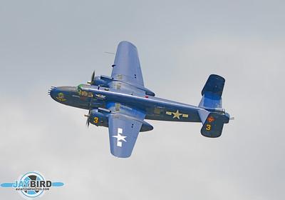 B-25;N9643C