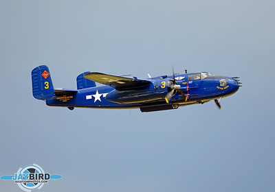 B-25; N9643C