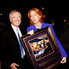 ISRAEL'S FOREIGN MINISTER TZIPI LIVNI<br /> WITH DAN GORDON<br /> <br /> image not for sale