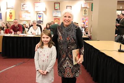 Abigail Kaminski with Jerene Milliken.