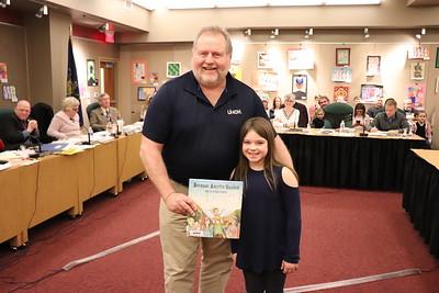 Lyla Kinney with Pat Dixon (accepting on behalf of Jennifer Lake)