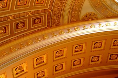 Ceiling in the Hall of Statues Capitol