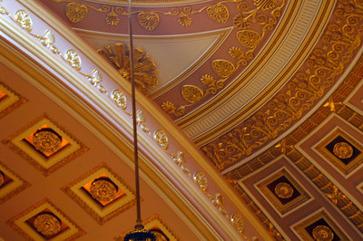 Ceiling in the Hall of Statues