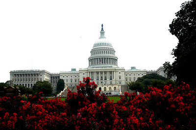 Capitol on a cloudy day