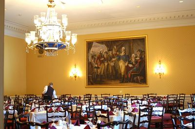 Judy Istook, the wife of my Congressman, Earnest Istook,  invited me to lunch in the Capitol Memers Dinning Room. It was a very special day  for this Judy