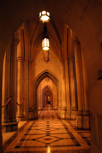 ARCHES...and Portals  there are two portals that run the lenght of the Cathedral