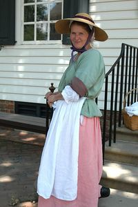 colonial lady