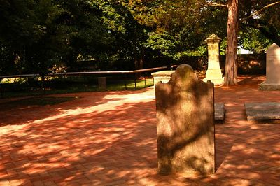 Bruton Parish Church cemetary