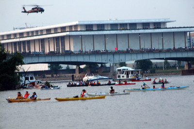 The Kennedy Center offered an excellent  vantage to watch the fireworks