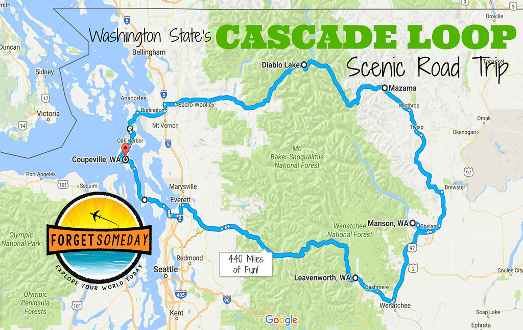 cascade loop scenic highway best washington road trip