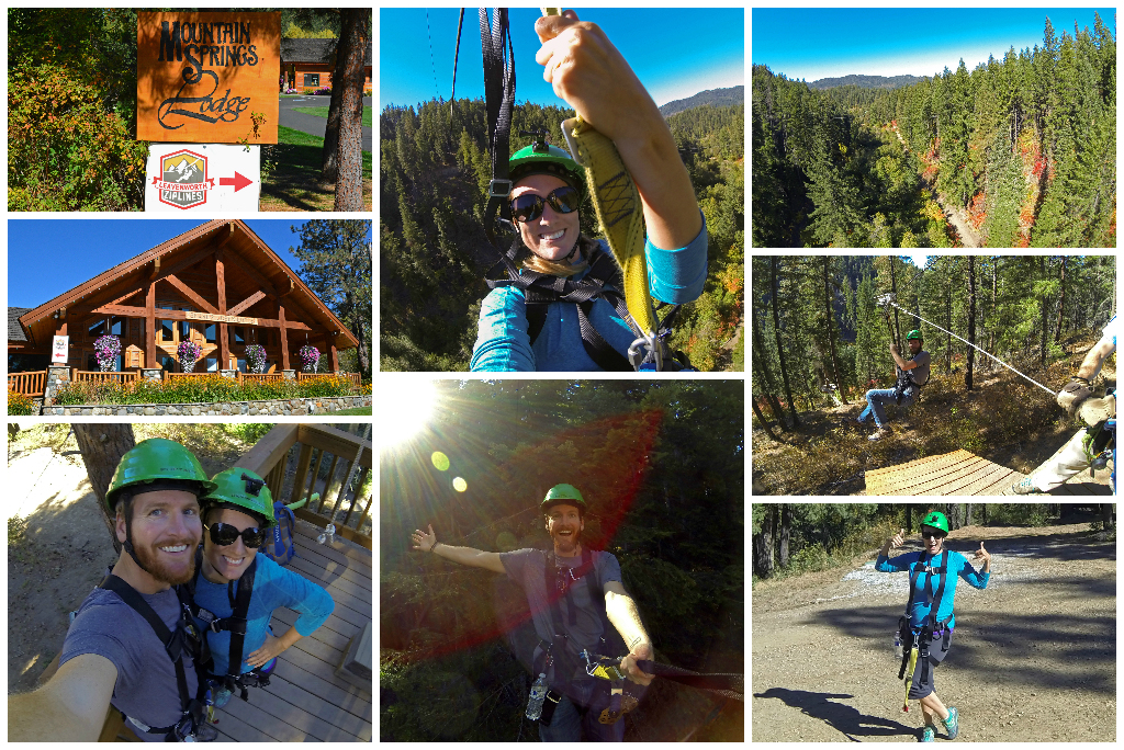 Leavenworth Ziplines