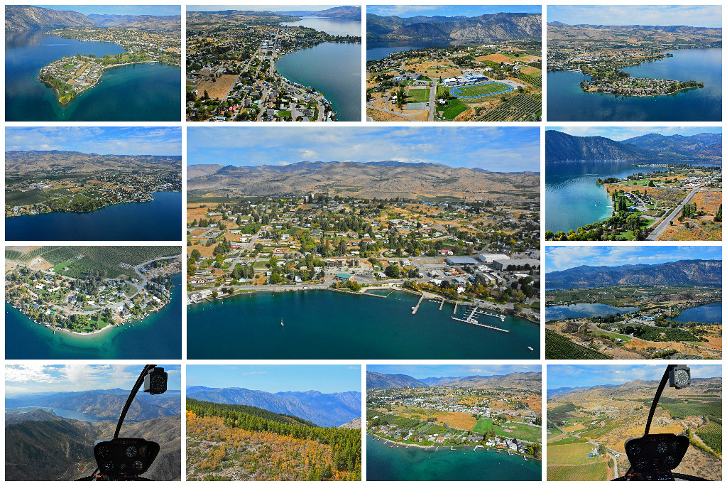 Lake Chelan by Helicopter