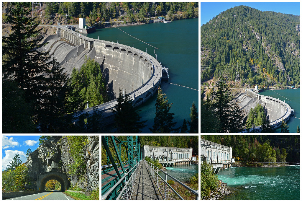 Diablo Dam - North Cascades National Park