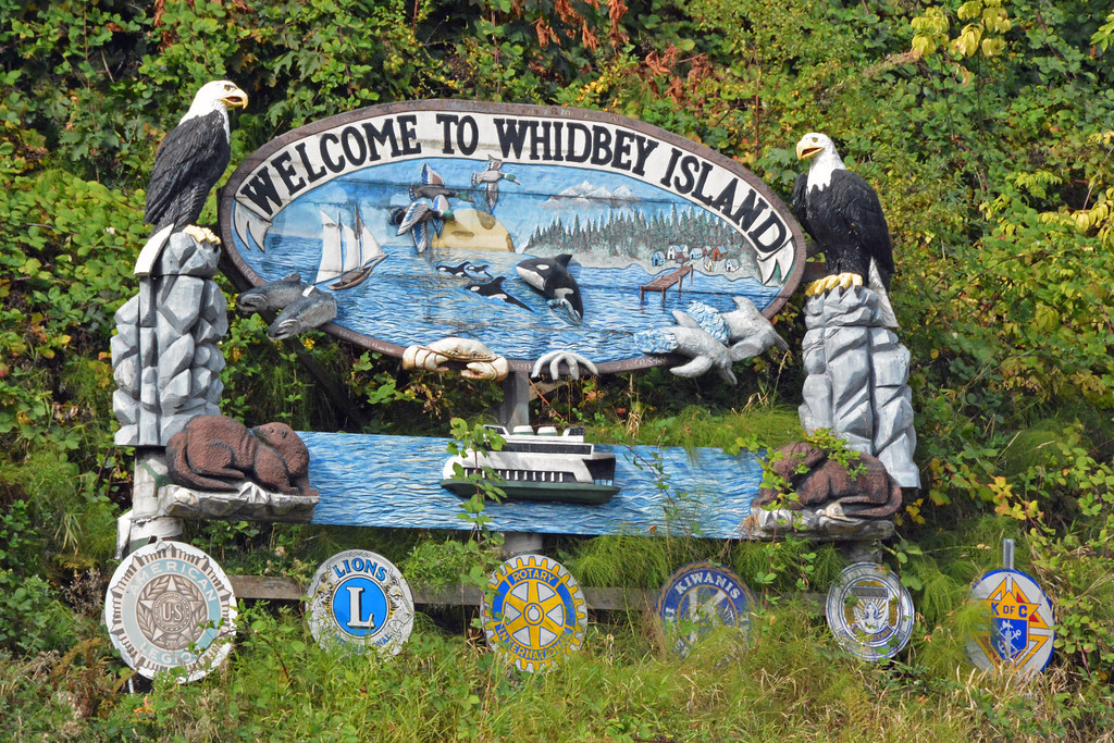 Whidbey Island Sign