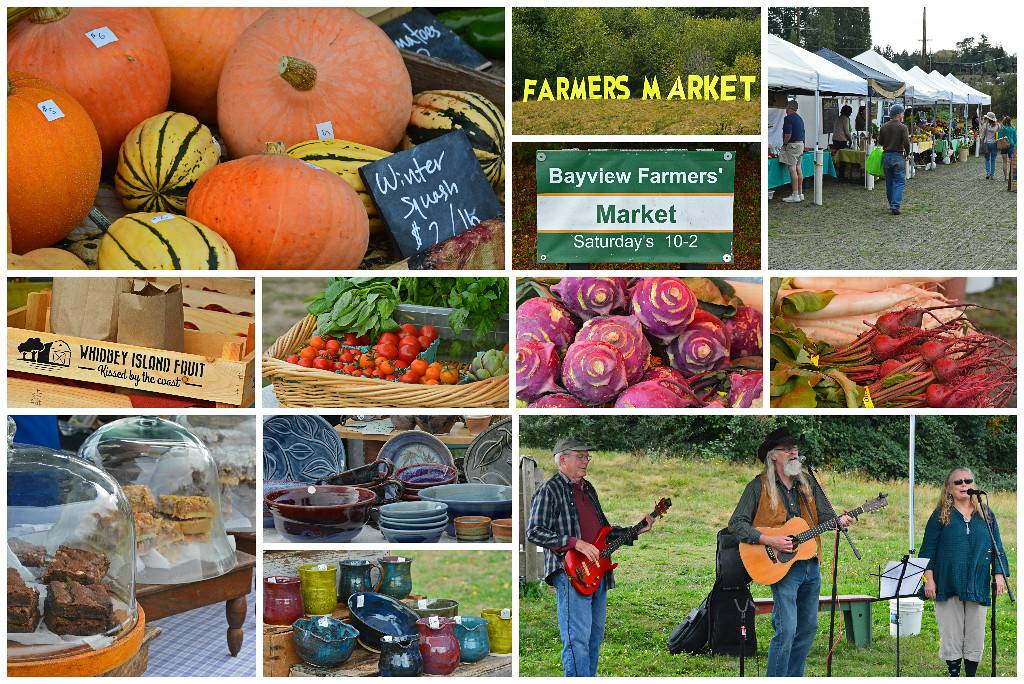 Bayview Farmer's Market on Whidbey Island