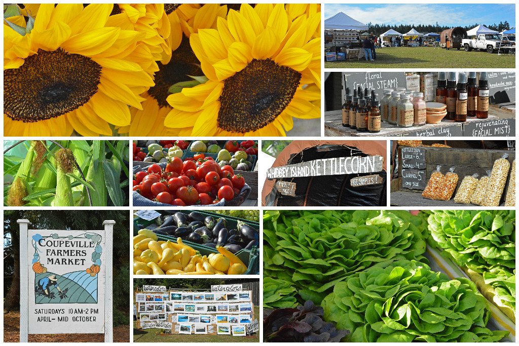Coupeville Farmer's Market on Whidbey Island