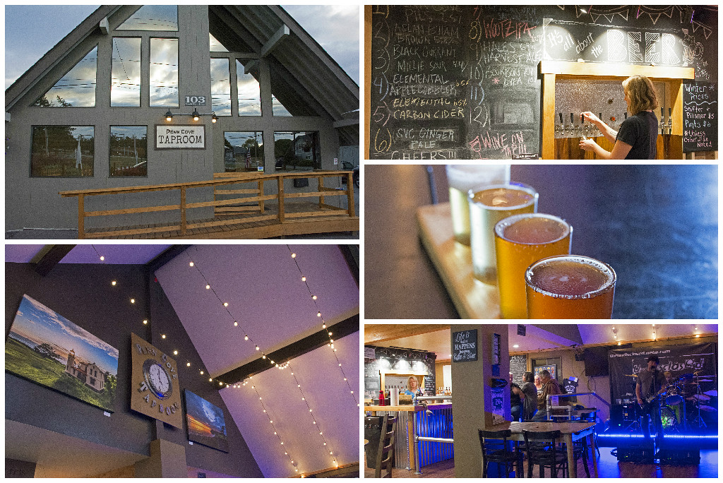 Penn Cove Tap Room on Whidbey Island