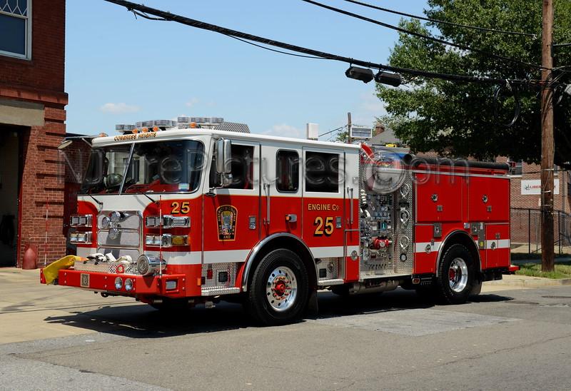 WASHINGTON DC ENGINE 25