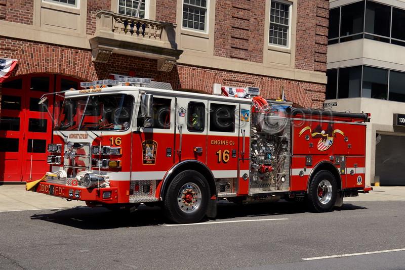 WASHINGTON DC ENGINE 16