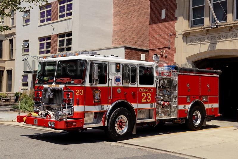 WASHINGTON DC ENGINE 23