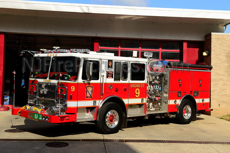 WASHINGTON DC ENGINE 9