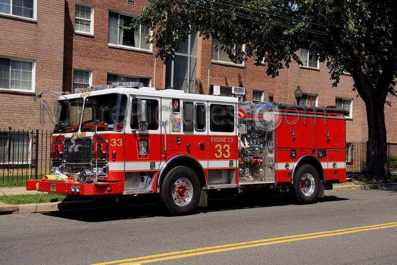 WASHINGTON DC ENGINE 33