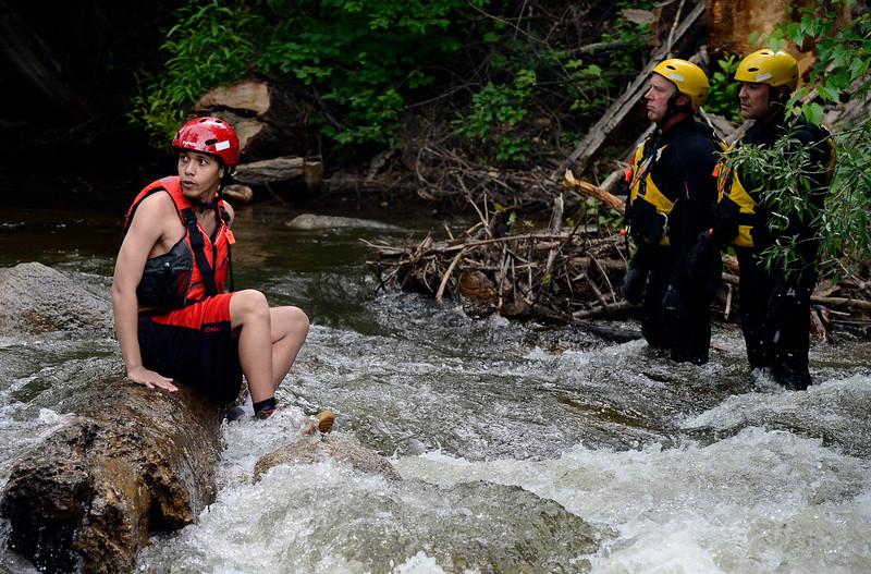 Eben G Fine Park Water Rescue