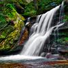 WATERFALL NEAR CEDAR FALLS HOCKING HILLS OHIO HDR 1