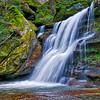 WATERFALL NEAR CEDAR FALLS HOCKING HILLS OHIO HDR 2
