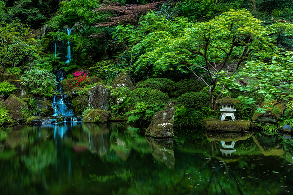VERNAL SPRINGS: JAPANESE GARDEN, PORTLAND OREGON