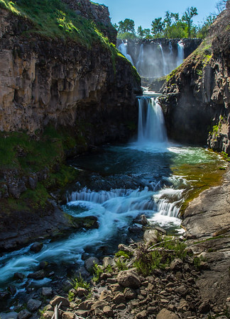 HIGH DESERT OASIS: WHITE RIVER FALLS, OREGON