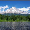 Mount Hood from Trillium Lake, Oregon