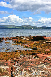 My place of birth on The Isle of Bute, Scotland.