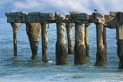 Pier remnants