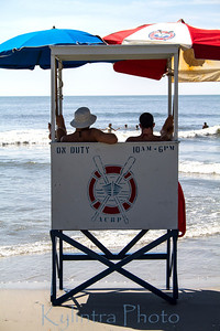 Lifeguards in waiting.