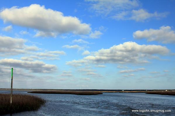 On the intercoastal waterway.