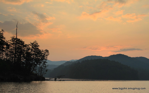 Morning on Jocassee